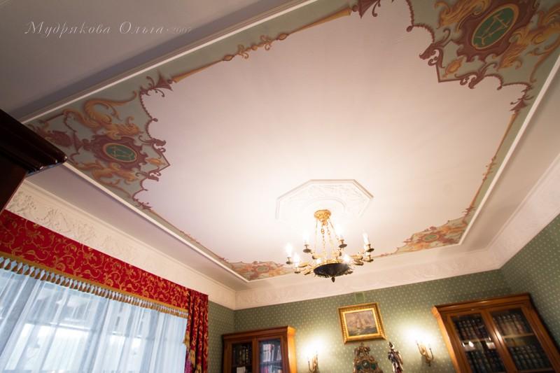 Потолок в кабинете