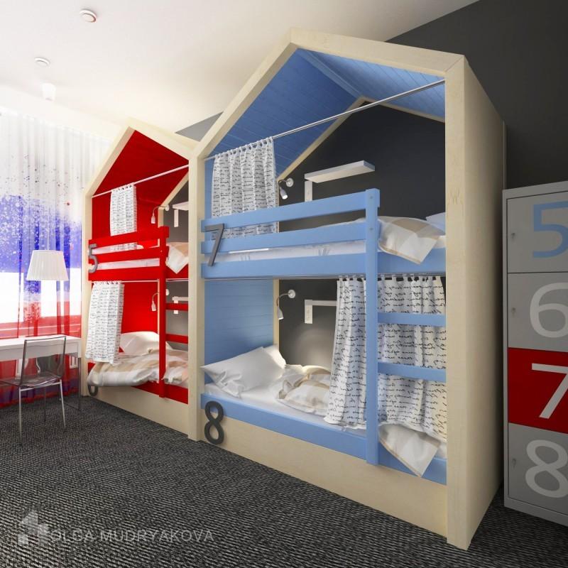 Дизайн хостела