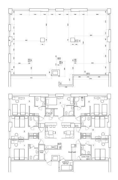 Предпроектное решение для мини-отеля