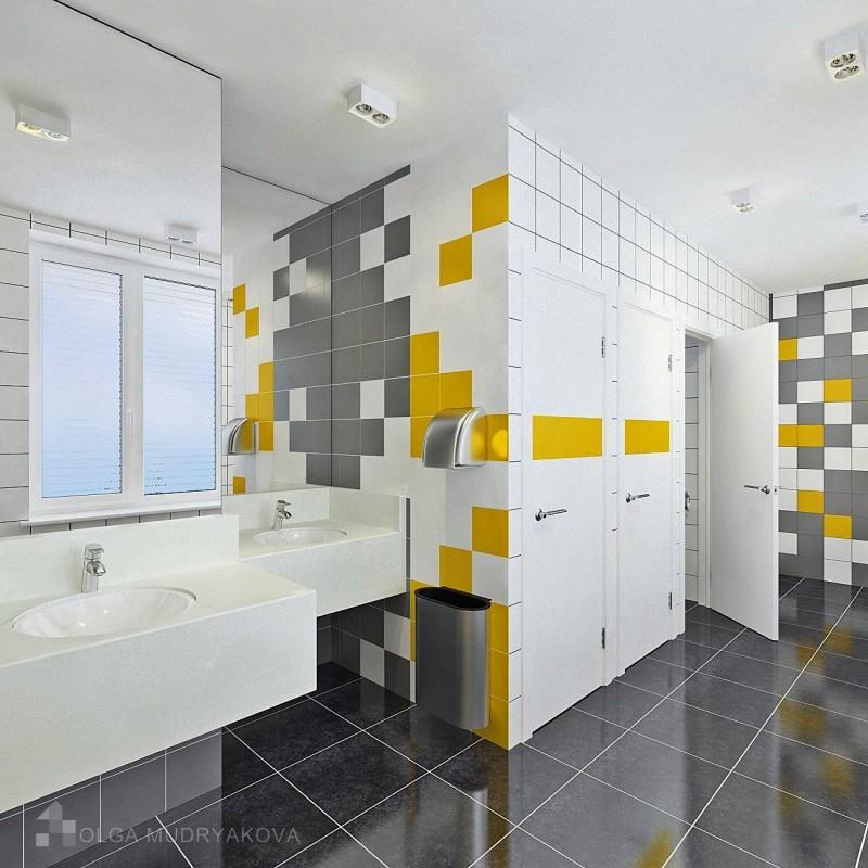 Желтый цвет в туалете