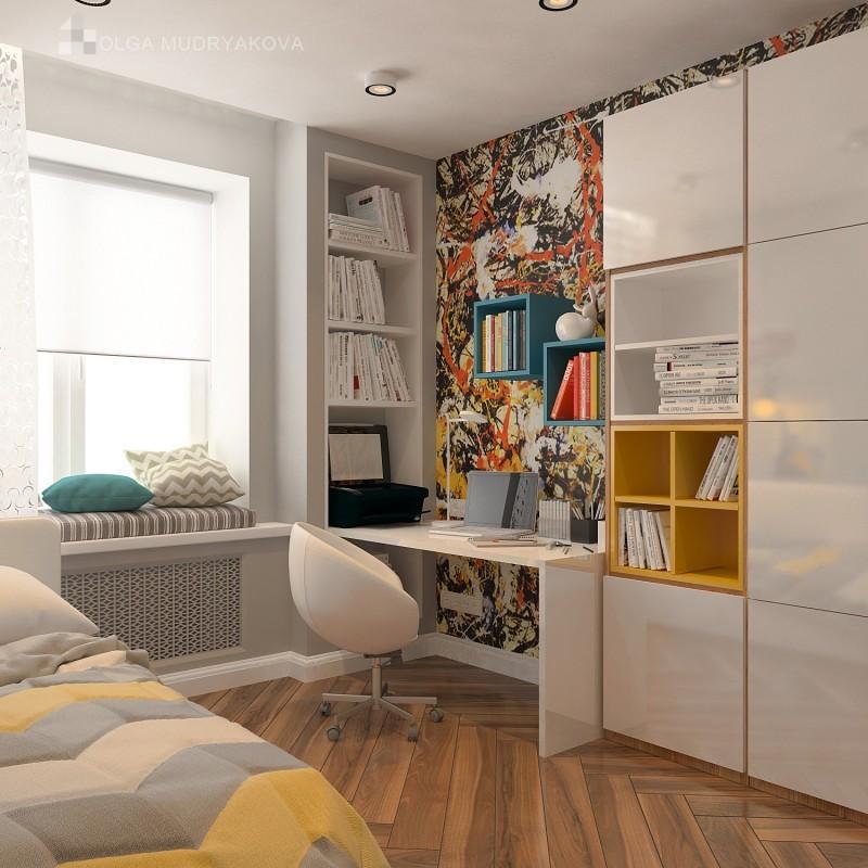 Интерьер комнаты для девочки