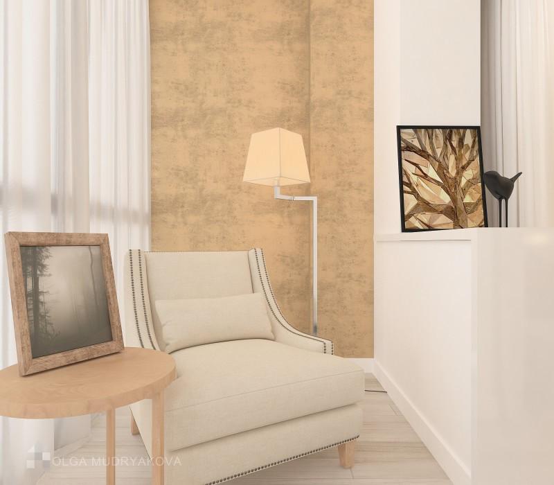 Дизайн зоны отдыха в спальне