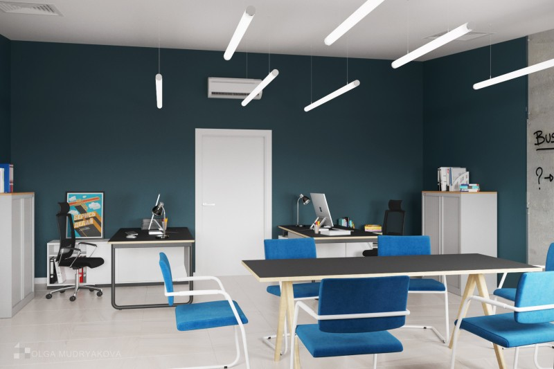 Дизайн кабинета отдела маркетинга