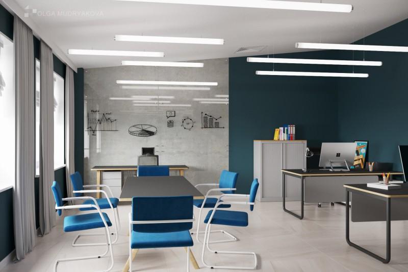 Дизайн кабинета маркетинга