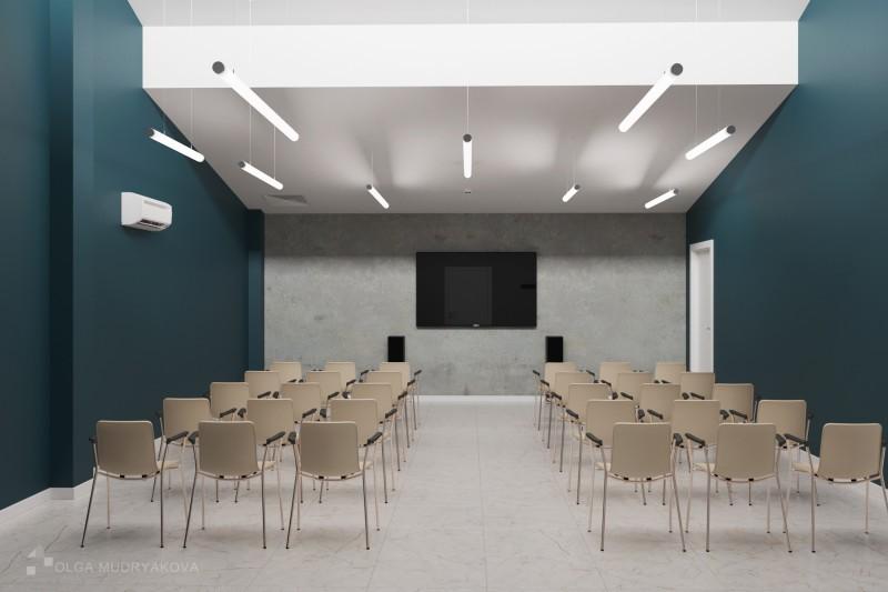 Дизайн интерьера конференц зала