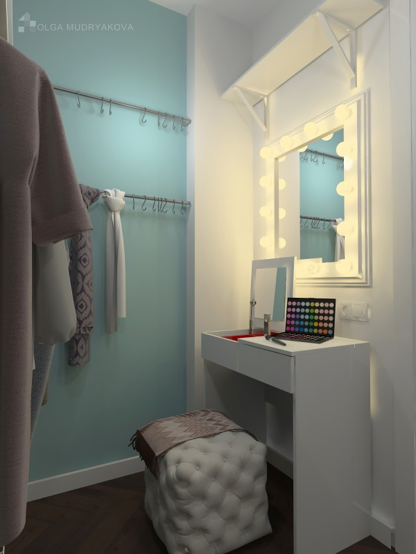 Туалетный столик в гардеробной