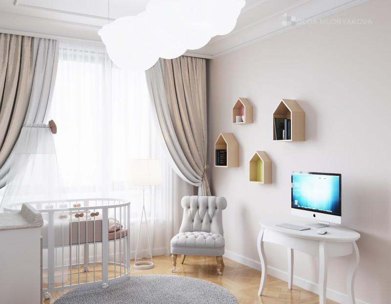 Дизайн интерьера детской