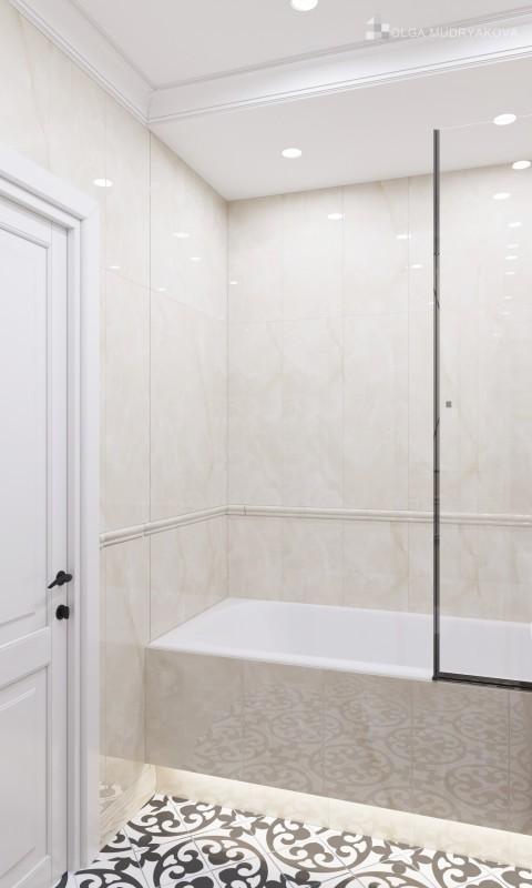 Использование подсветки в ванной