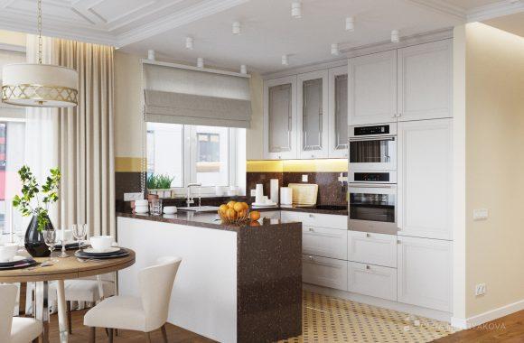 Дизайн кухни в современном стиле