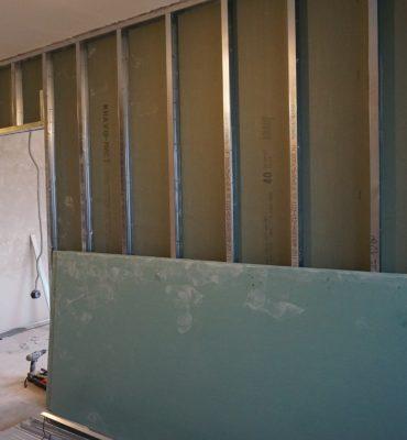 Подготовка стен для двери-пинала