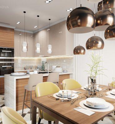 Дизайн интерьера обеденной зоны